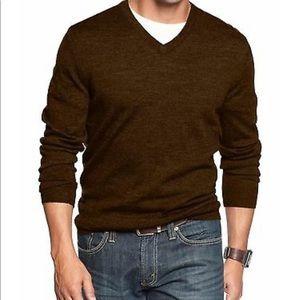 NWT Club Room V Neck Wool Blend Sweater